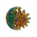 Магнит из полистоуна ″Мозаика″ Солнце и луна T208 К* купить оптом и в розницу