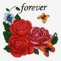 Набор для вышивания 26*20,5см Розы 3204 купить оптом и в розницу