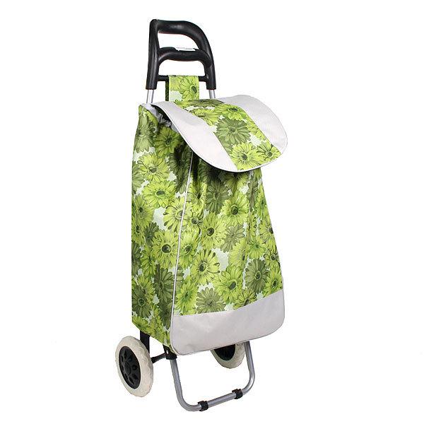 Тележка хозяйственная с сумкой (96*36*33см, колеса 16см,грузоподъемность до 30 кг.) космея купить оптом и в розницу