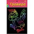 Набор ДТ Гравюра Веселый попугай с эфф.радуга Г-7848 купить оптом и в розницу