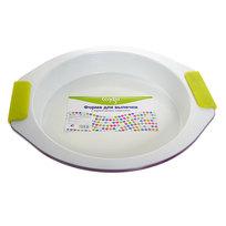 Форма для выпечки металлическая 29*26*4 см с керамическим покрытием и силиконовыми ручками 16574-1 купить оптом и в розницу