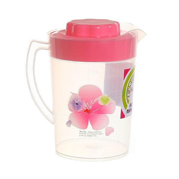 Набор питьевой 5 предметов ″Нежность″: кувшин 1,2л, 4 стакана купить оптом и в розницу