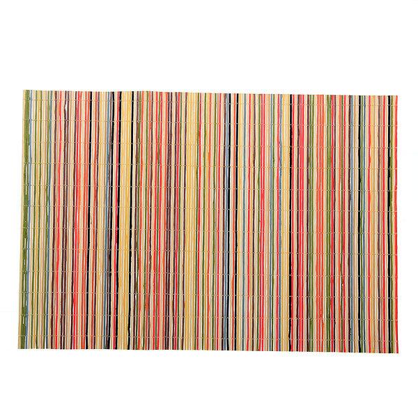 Салфетка на стол 45*30см бамбуковая Полоски мелкие-1 101 купить оптом и в розницу