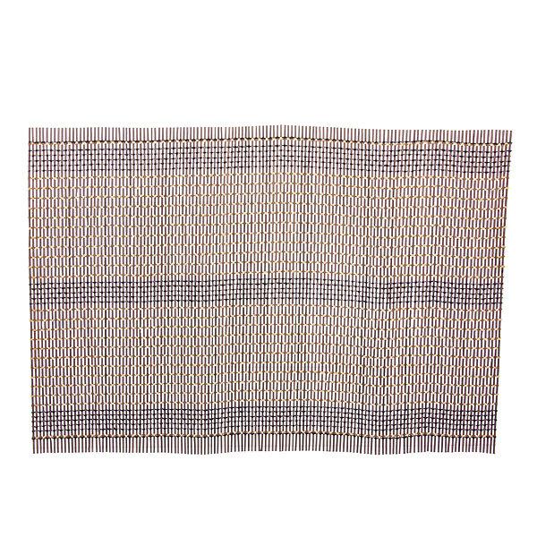 Салфетка на стол 45*30см бамбуковая Плетение коричневая купить оптом и в розницу