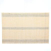 Салфетка на стол 45*30см бамбуковая Плетение желтая купить оптом и в розницу