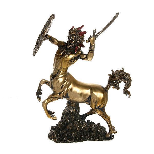 Статуэтка из полистоуна античная Кентавр 9439 (бронза) купить оптом и в розницу