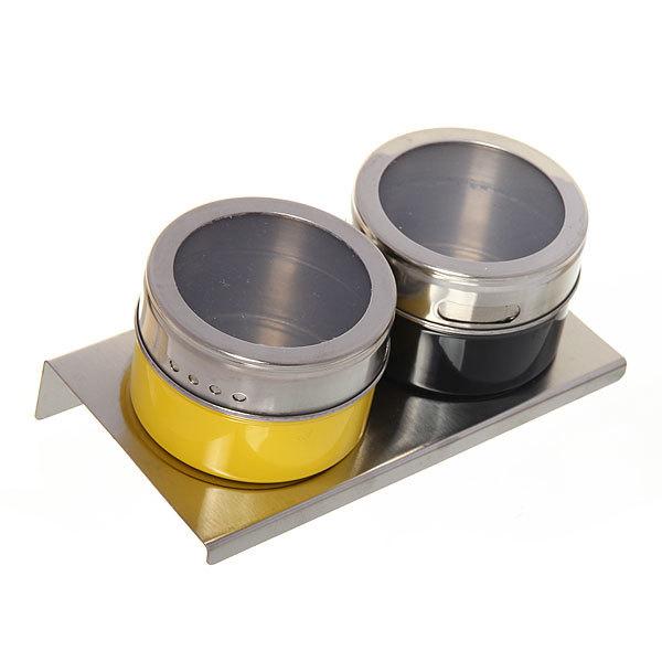 Набор для специй на магните 2 шт цветной купить оптом и в розницу