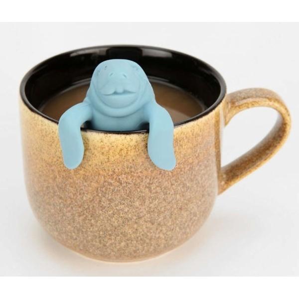 Ситечко для чая силиконовое ″Тюлень″ купить оптом и в розницу
