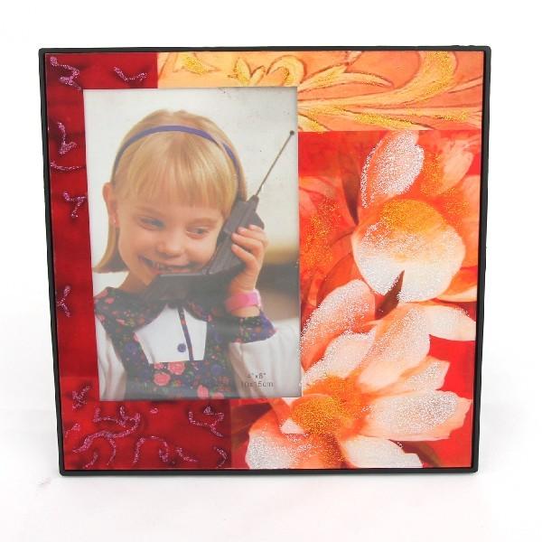 Фоторамка из стекла ″Феерия цвета″ 10х15 см Y13 купить оптом и в розницу