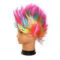 Парик карнавальный ″Ирокез″ цветной 999-1 купить оптом и в розницу