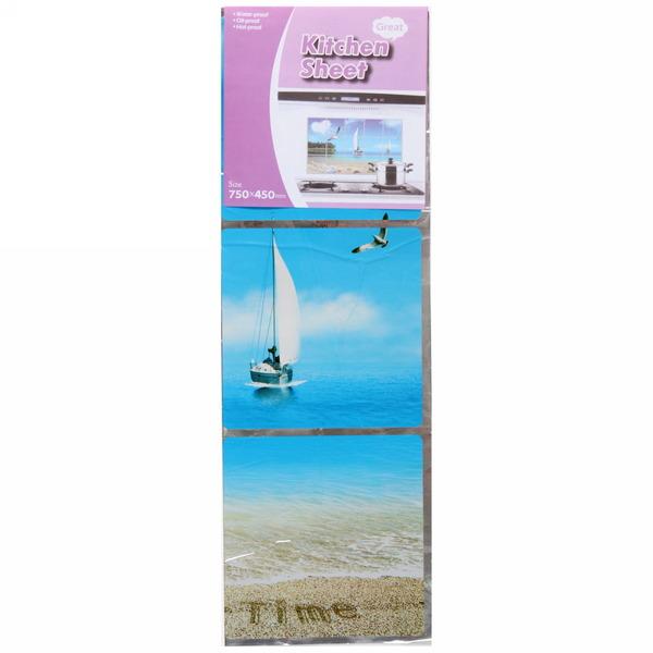 Защитная пленка-стикер 45*75см Морской берег купить оптом и в розницу