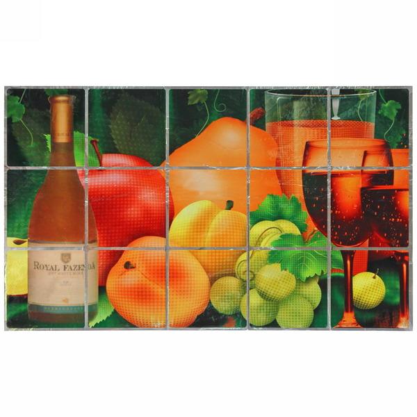 Защитная пленка-стикер 45*75см Натюрморт с фруктами купить оптом и в розницу