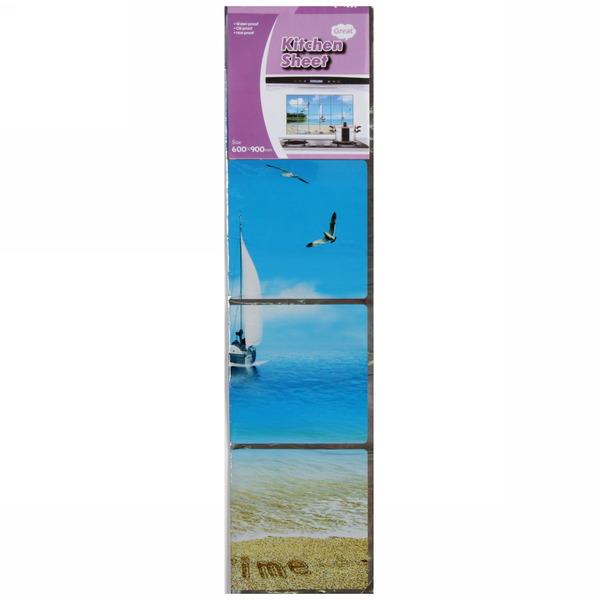 Защитная пленка-стикер 60*90см морской берег купить оптом и в розницу