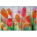 Защитная пленка-стикер 60*90см тюльпаны купить оптом и в розницу
