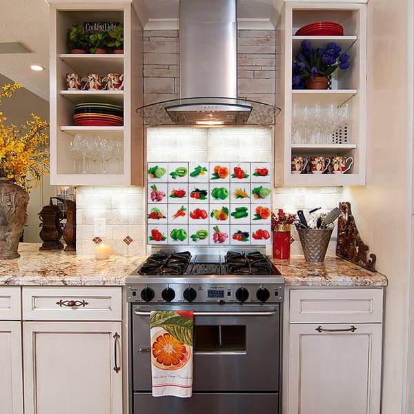 Защитная пленка-стикер 60*90см фрукты и овощи купить оптом и в розницу