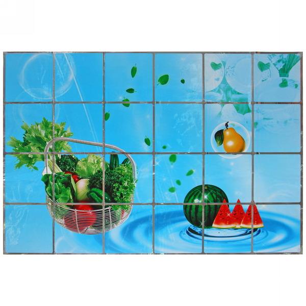 Защитная пленка-стикер 60*90см Овощная корзина купить оптом и в розницу