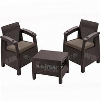 Комплект садовой мебели (2 кресла+ столик )   Yalta Weekend   Цвет венге купить оптом и в розницу