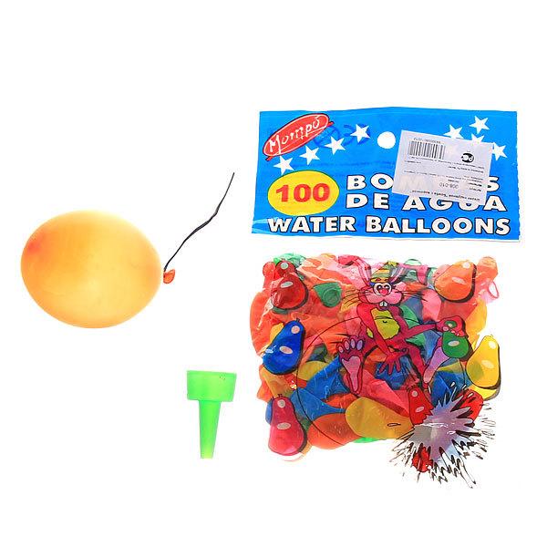 Воздушные шары ″Бомба″, набор 100 шт. ( воронка для воды в комплекте) купить оптом и в розницу
