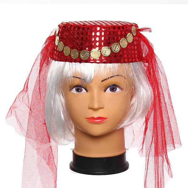 Шляпа карнавальная ″Восточная красавица″ черная купить оптом и в розницу