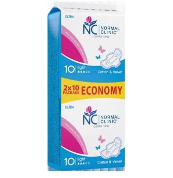 Прокладки женские ультратонкие NORMAL cliniс ″COMFORT″ Fresh- cotton & velvet - 3 капли, 240 мм, 10шт купить оптом и в розницу