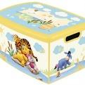 Коробка декоративная MADRID L DISNEY Winnie the Pooh желтый Curver /10 шт (295х195х135 )мм купить оптом и в розницу
