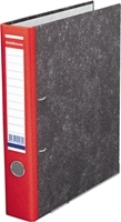 Папка-файл   Erich Krause А4/50 мрам/красная разборная, мет.угол. купить оптом и в розницу