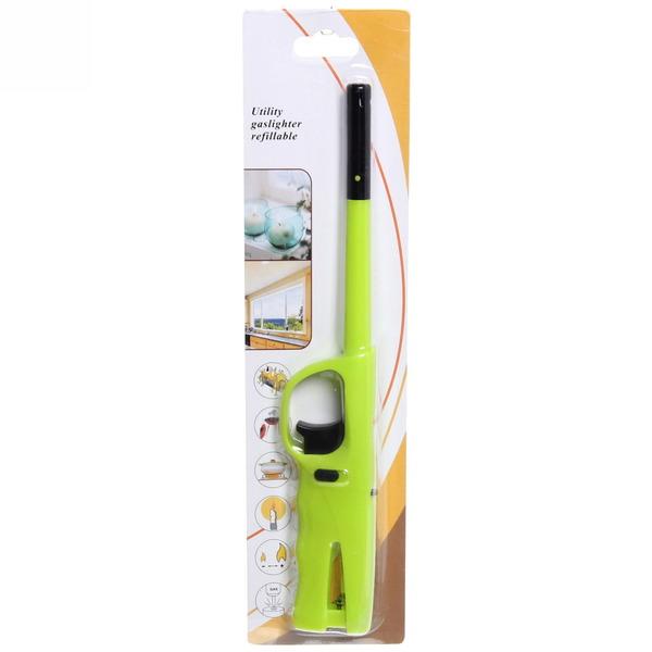 Зажигалка газовая для газовой плиты на блистере 23см купить оптом и в розницу