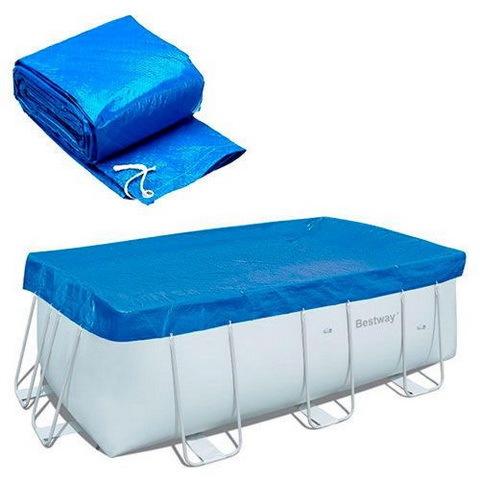 Чехол для прямоугольных каркасных бассейнов 396*185 см Bestway (58232) купить оптом и в розницу