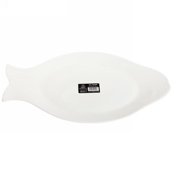 Блюдо фарфоровое для рыбы 46см WILMAX /4 купить оптом и в розницу