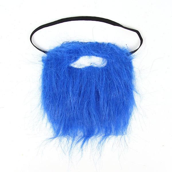 Борода карнавальная синяя″ 985-1 купить оптом и в розницу