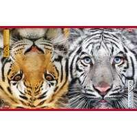 """Тетрадь-перевертыш 96л.кл.скрепка HATBER, """"Тигр"""" купить оптом и в розницу"""