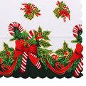 Скатерть ″Новогодний калейдоскоп″ 150*220см 17 Серпантин купить оптом и в розницу