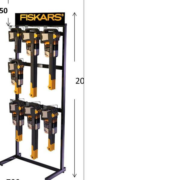 Стойка по топорам FISKARS ( отгружается при покупке товара Фискарс) купить оптом и в розницу
