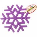 Подставка под горячее силиконовая ″Снежинка″ 15*1см купить оптом и в розницу