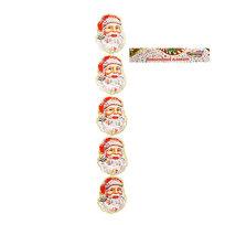 Гирлянда бумажная вертикальная 70 см* 5 секций (14х12см) Дед Мороз купить оптом и в розницу
