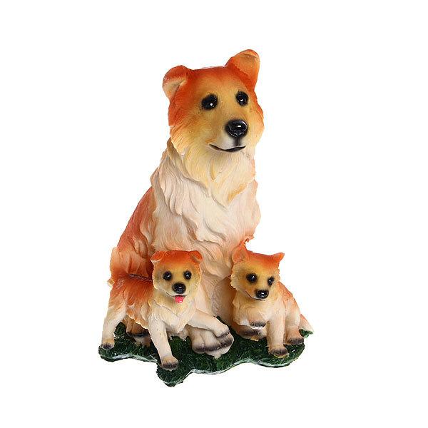 сувенир собака со щенком Н5252 купить оптом и в розницу