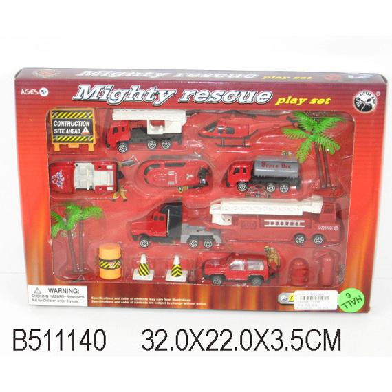 Набор машин металл 11258-ВА Пожарный LITTLE ANT купить оптом и в розницу