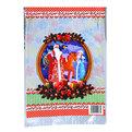 Пакет подарочный ПВХ 40х4,5 см ″Новогодний″ Дед Мороз со Снегурочкой купить оптом и в розницу