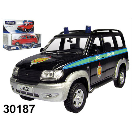 Модель  УАЗ Патриот ФСБ России 30187 1:34 купить оптом и в розницу