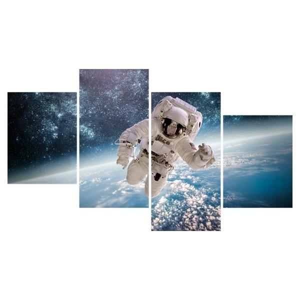 Картина модульная полиптих 60*129 Космос диз.1 5-03 купить оптом и в розницу