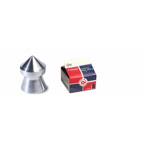 Пуля пневматическая Crosman Pointed, 4,5 мм, 0,48 гр (1250 шт) купить оптом и в розницу