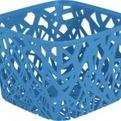 Корзинка квадратная NEO COLORS голубой/*6 шт (19,2х19,2х14,4)см Curver купить оптом и в розницу