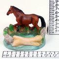 Пепельница из керамики ″Конь″ E628B купить оптом и в розницу