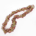 Мишура новогодняя 2 метра 9см ″Калейдоскоп″ золото, серебро, красный купить оптом и в розницу