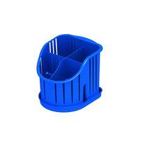Подставка для столовых приборов пластиковая, 4 секции купить оптом и в розницу