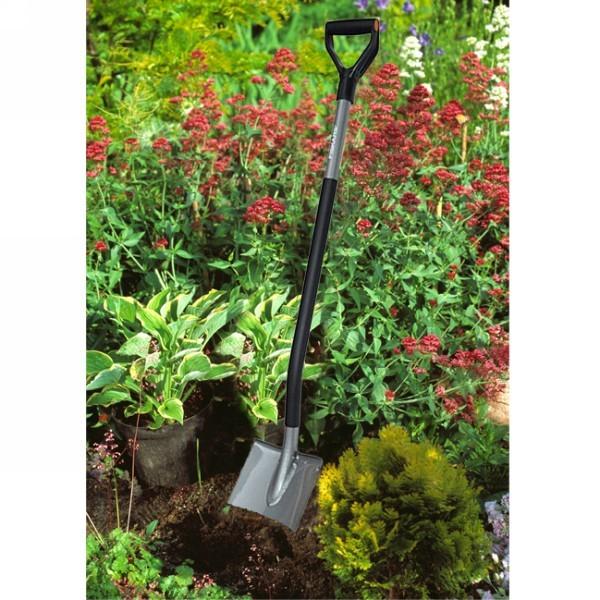 Лопата садовая с закругл.лезвием Эргономик (131400) FISKARS купить оптом и в розницу