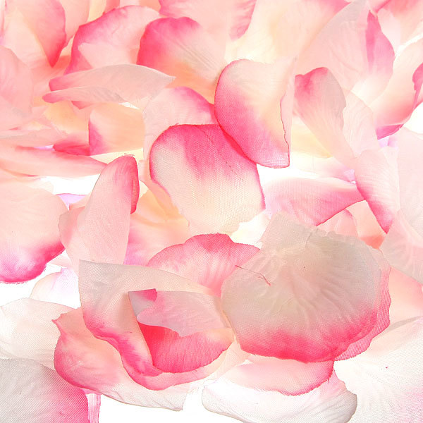 Лепестки роз розовые 144 шт в упаковке 4,5*4,5 см купить оптом и в розницу