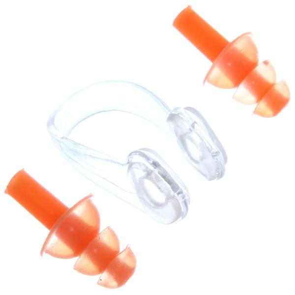 Набор для плавания NC-1: беруши ″стрелочки″ и зажим для носа купить оптом и в розницу
