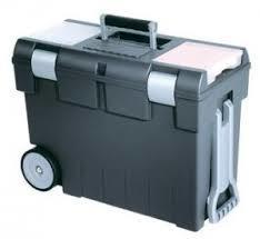 Ящик для мастерской  на колесах графит./прозрач. купить оптом и в розницу