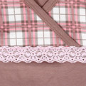 Пижама женская цвет кофейный арт. 13 р-р 44 купить оптом и в розницу